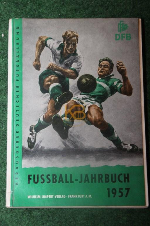 DFB Fußball Jahrbuch 1957