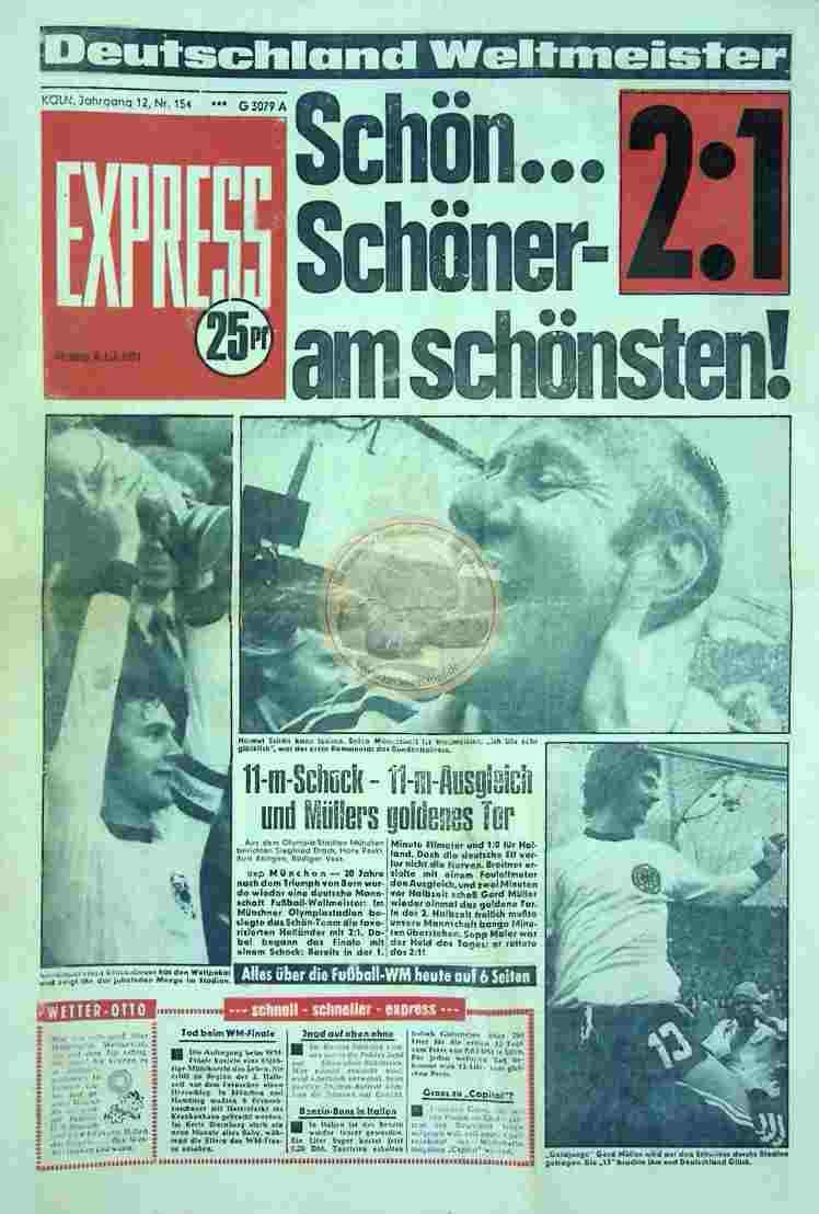 1974 Juli 8. Kölner Express