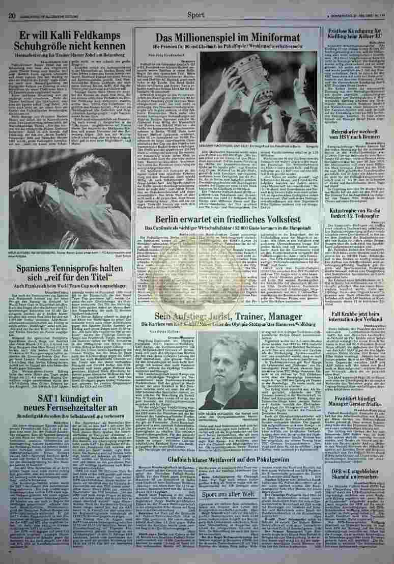 1992 Mai 21. HAZ (Auszug)