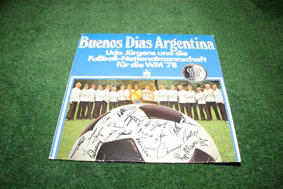 Buenas Dias Argentina Platte mit Udo Jürgens