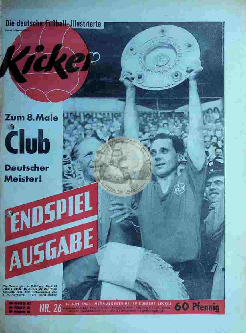 1961 Juni 26. Kicker Nr. 26