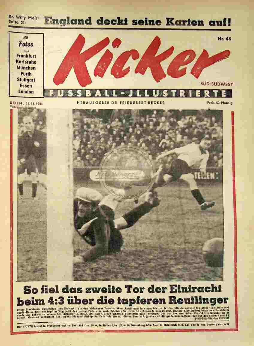 1954 November 15. Kicker Nr.46