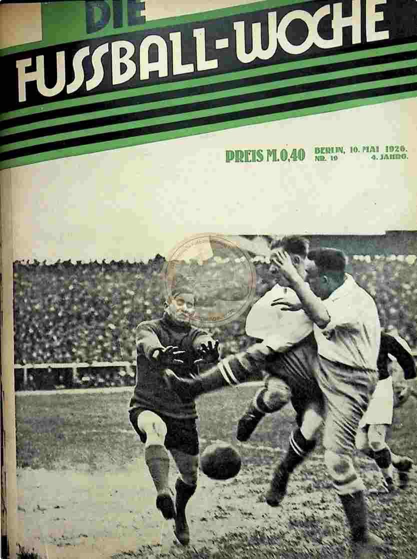 1926 April 26. Fussball-Woche Nr. 17