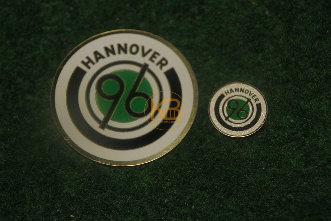 Messingplatten von Hannover 96aus den 1960ern.