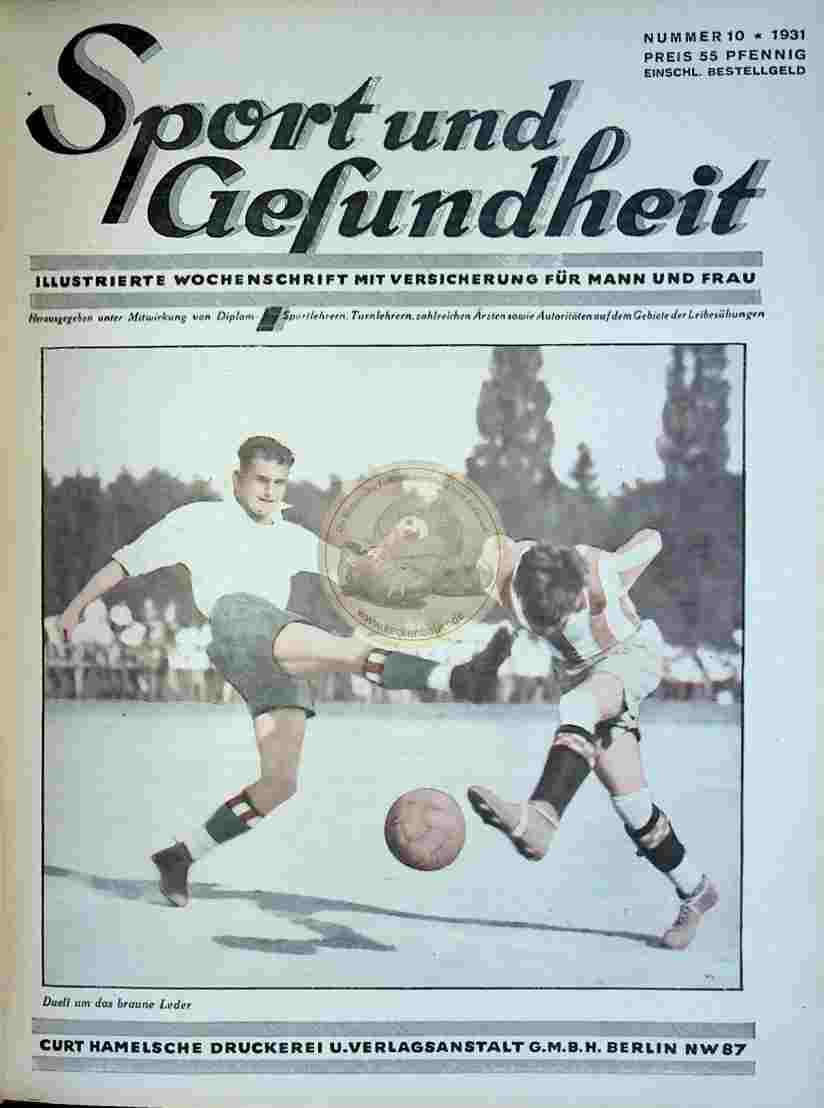 1931 Sport und Gesundheit Nr.10