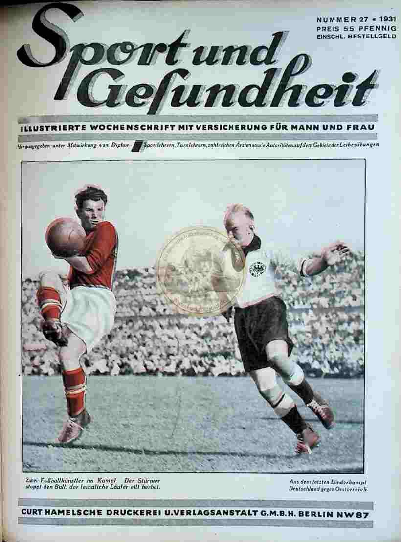 1931 Sport und Gesundheit Nr.27