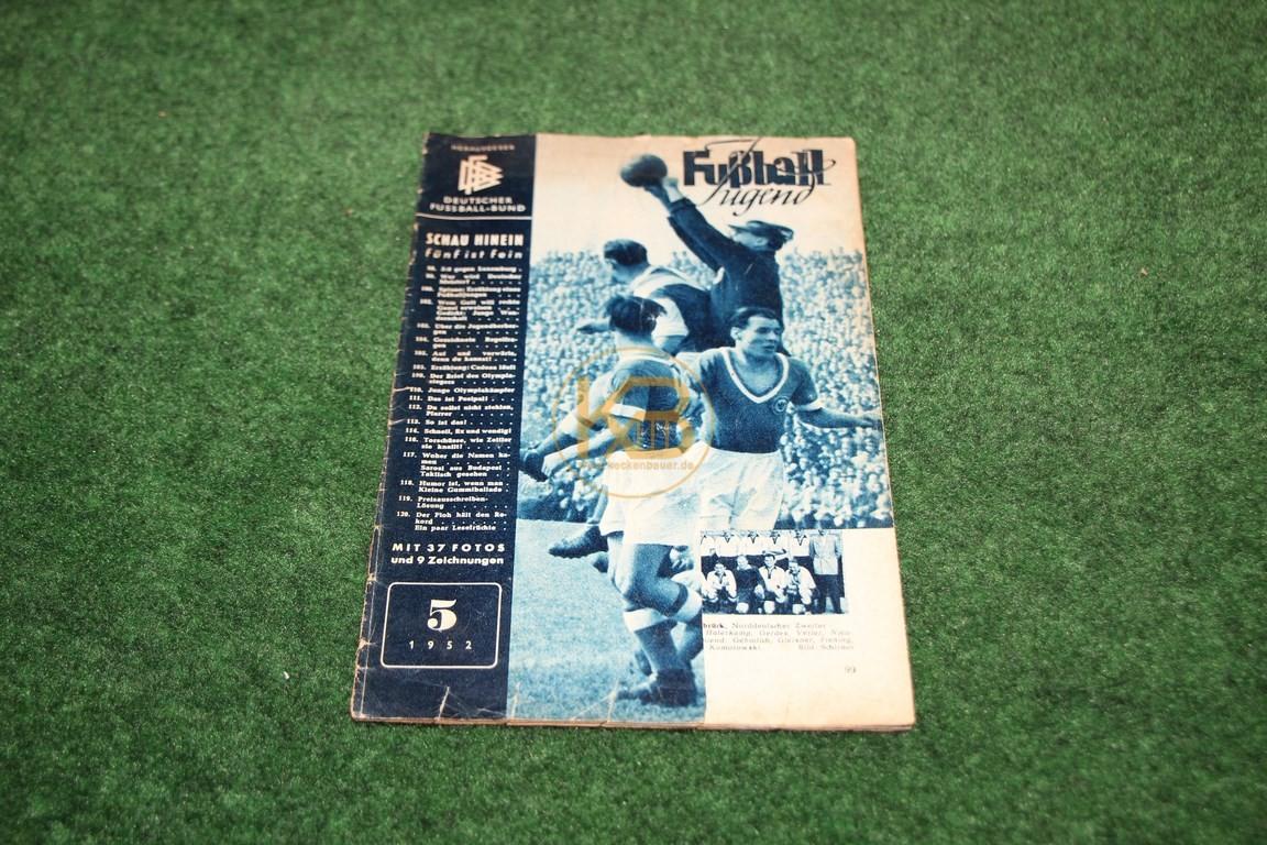 Fußball Jugend Mai 1952.