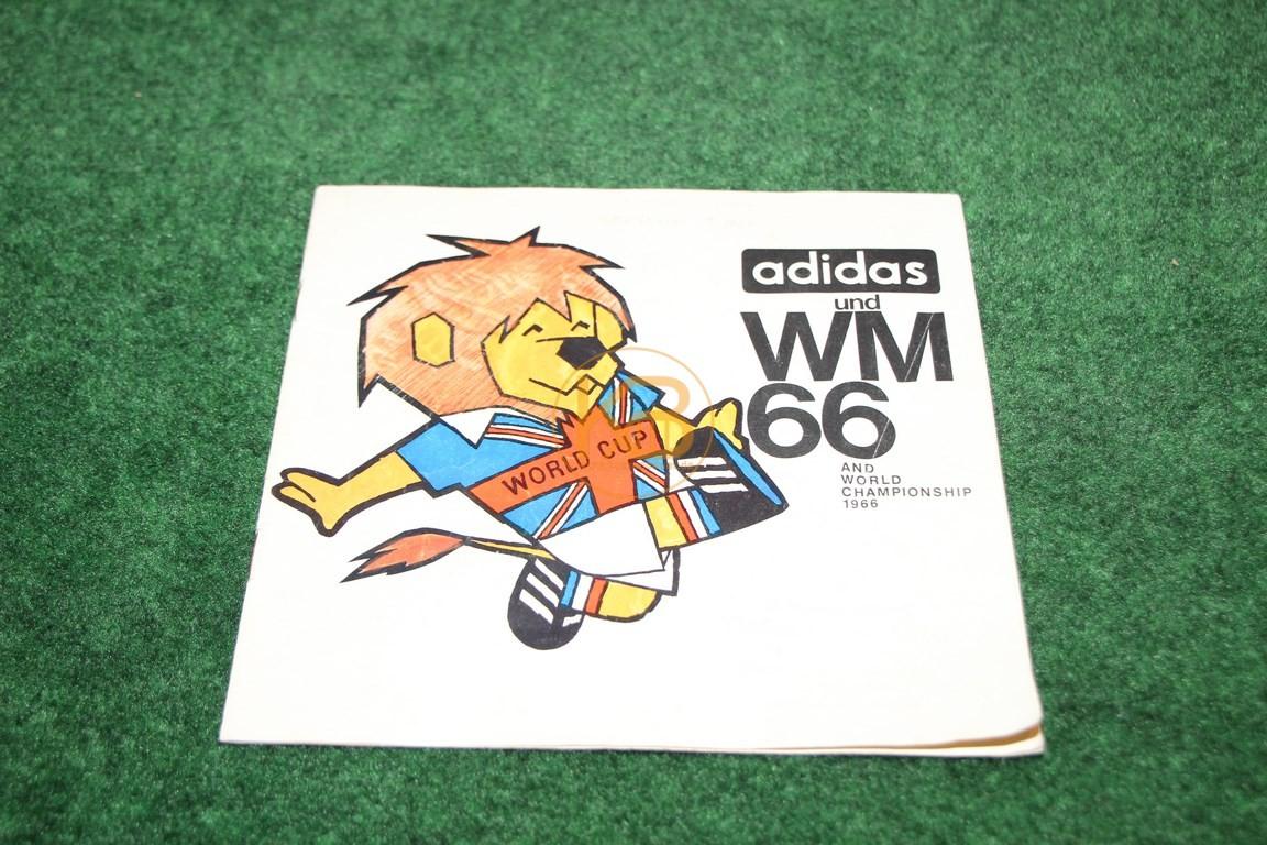 Adidas und WM 66, Schuhwerbung zur Weltmeisterschaft