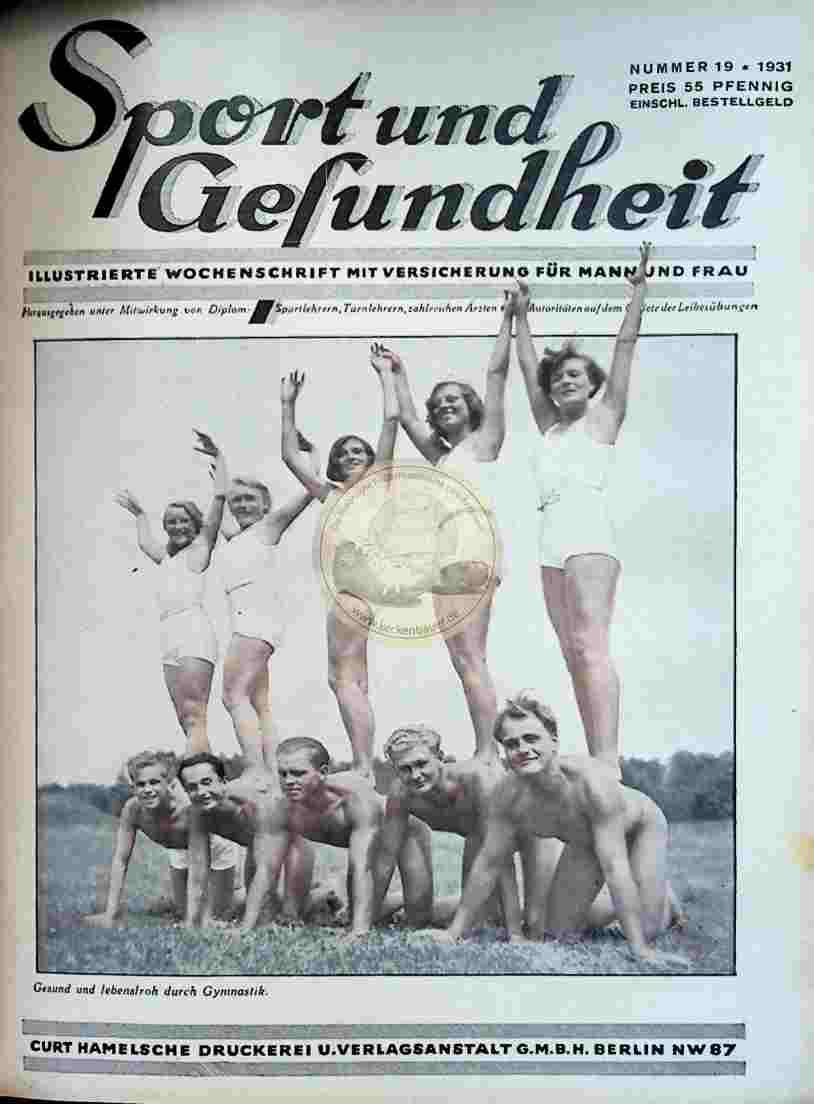 1931 Sport und Gesundheit Nr.19