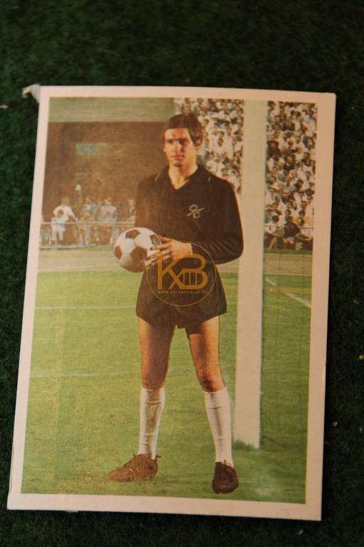 Bergmann Sammelbild von Bernd Helmschrot Hannover 96 Saison 68/69.