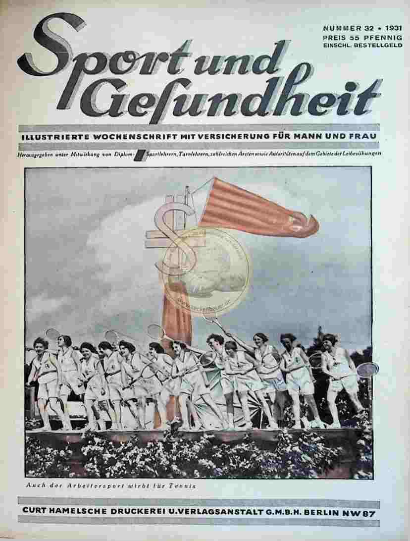 1931 Sport und Gesundheit Nr.32