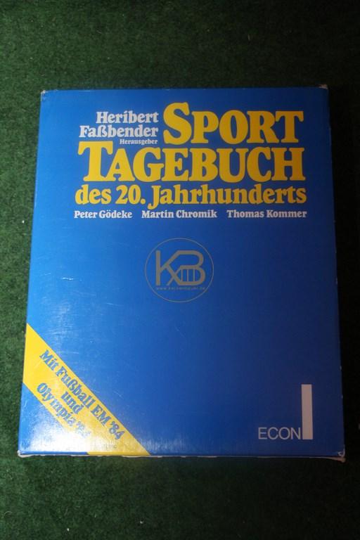 Heribert Faßbender Sport Tagebuch des 20. Jahrhunderts im Econ Verlag