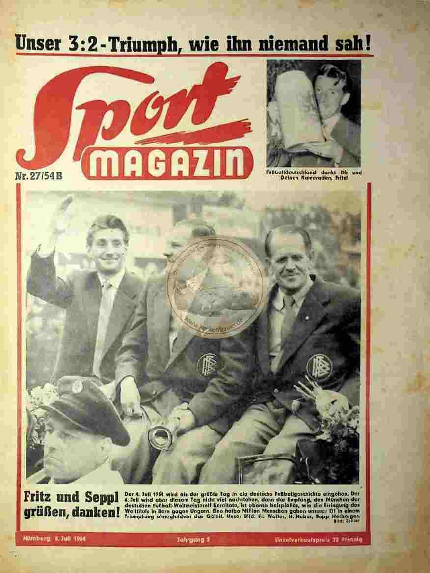 1954 Juli 8. Sport Magazin Nr.27