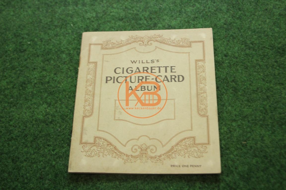 Wills´s Cigarette Picture Card Album vollständig aus dem Jahr 1940.