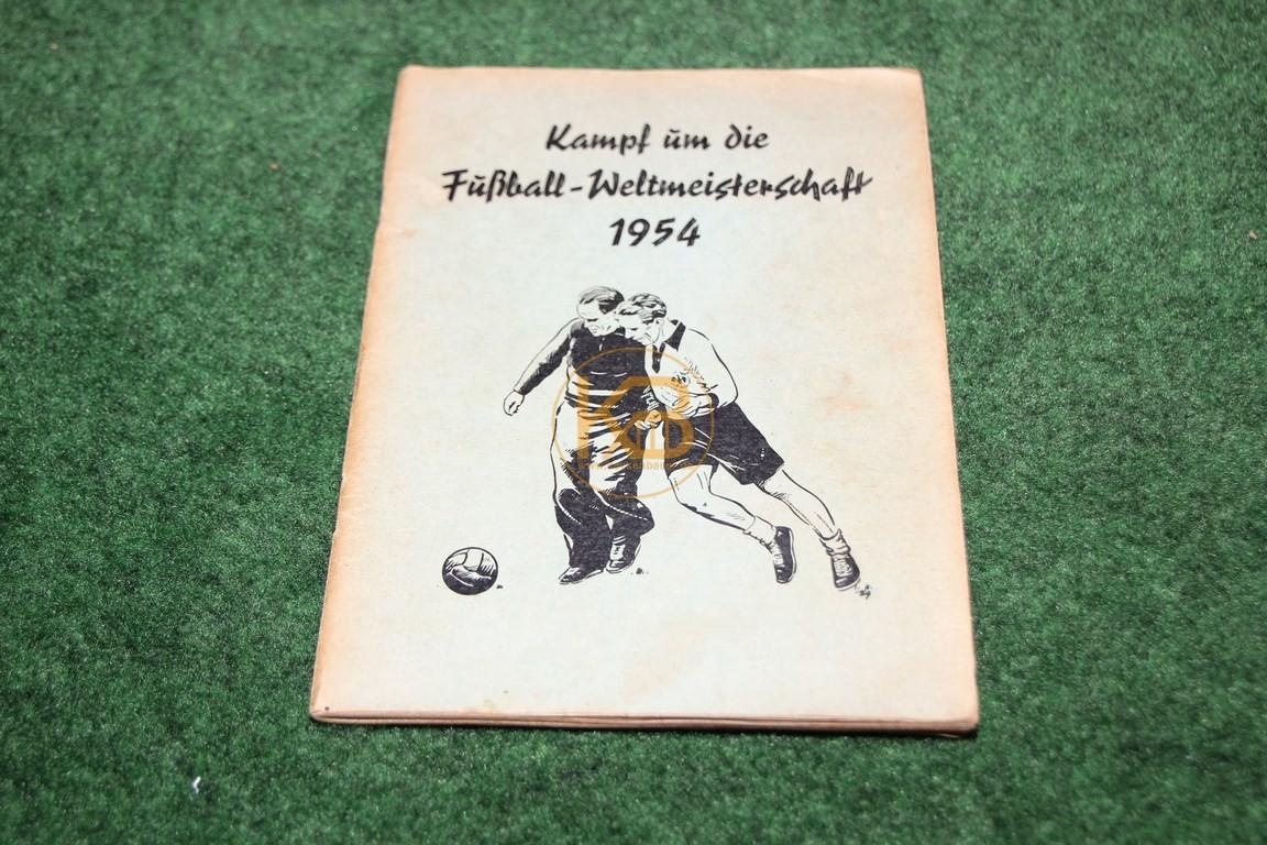 Sammelheft Kampf um die Fußball Weltmeisterschaft 1954 II komplett vom OK Verlag Hamburg (E.A. Walter Schumann Pinneberg i. Holstein)