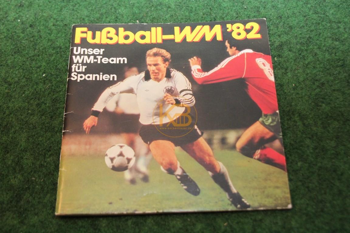 Sammelalbum Fußball WM 1982 von Ferrero natürlich vollständig.
