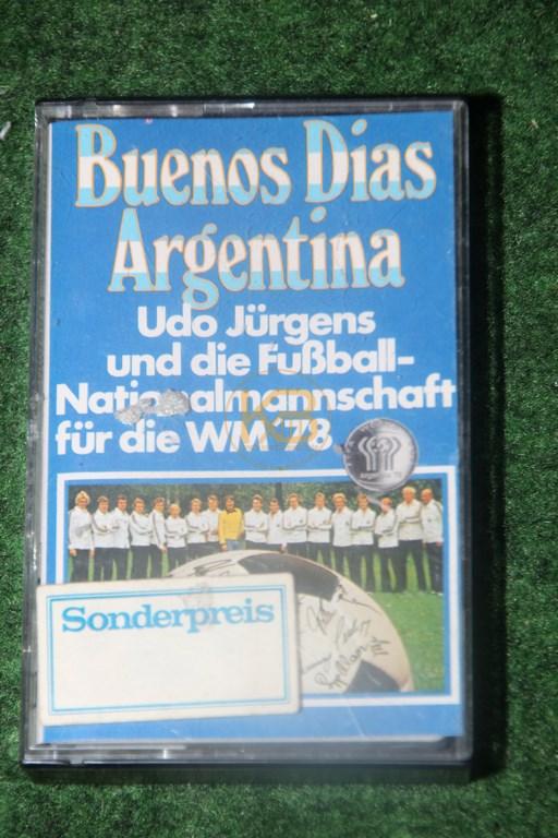 Kassette Buenos Dias Argentina von Udo Jürgens