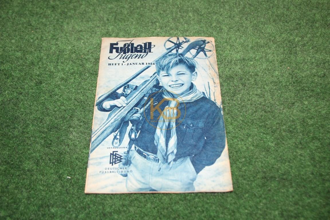 Fußball Jugend Januar 1954.
