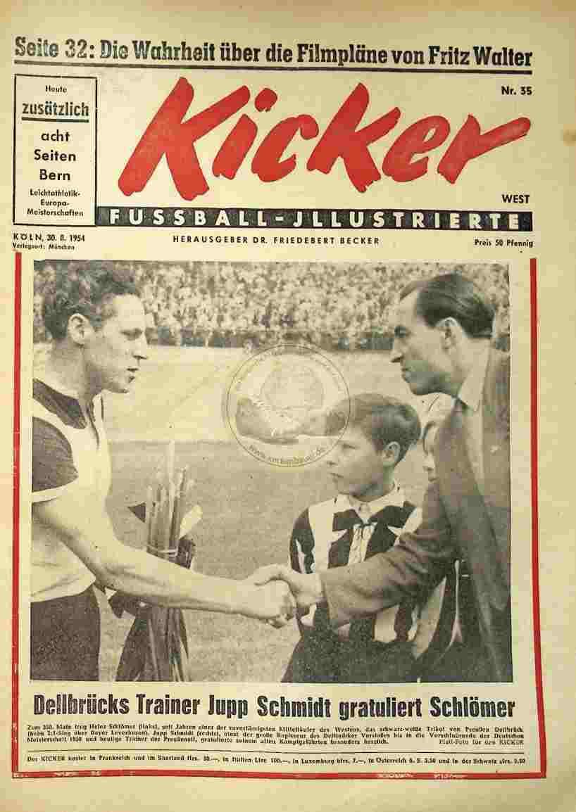 1954 August 30. Kicker Nr.35