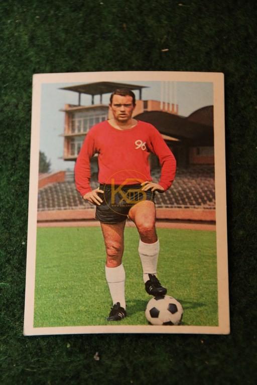 Bergmann Sammelbild von Klaus Bohnsack Hannover 96 Saison 68/69.