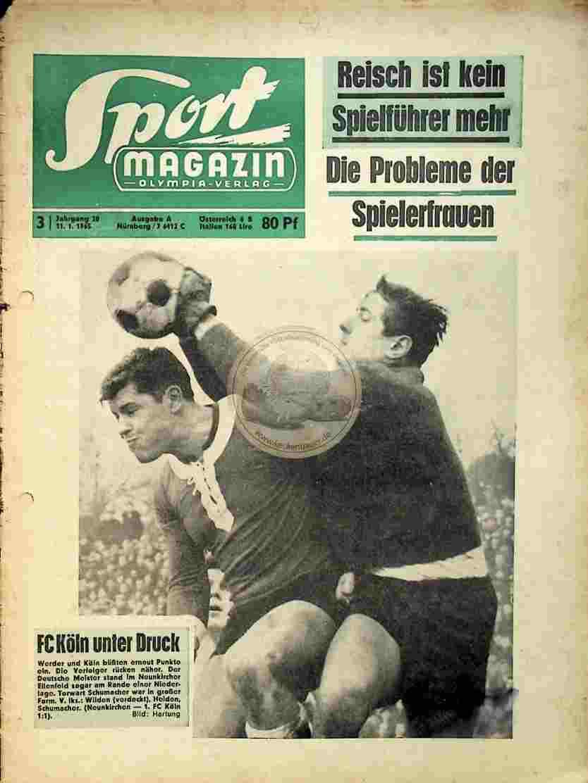 1965 Januar 11. Sport Magazin Nr.3