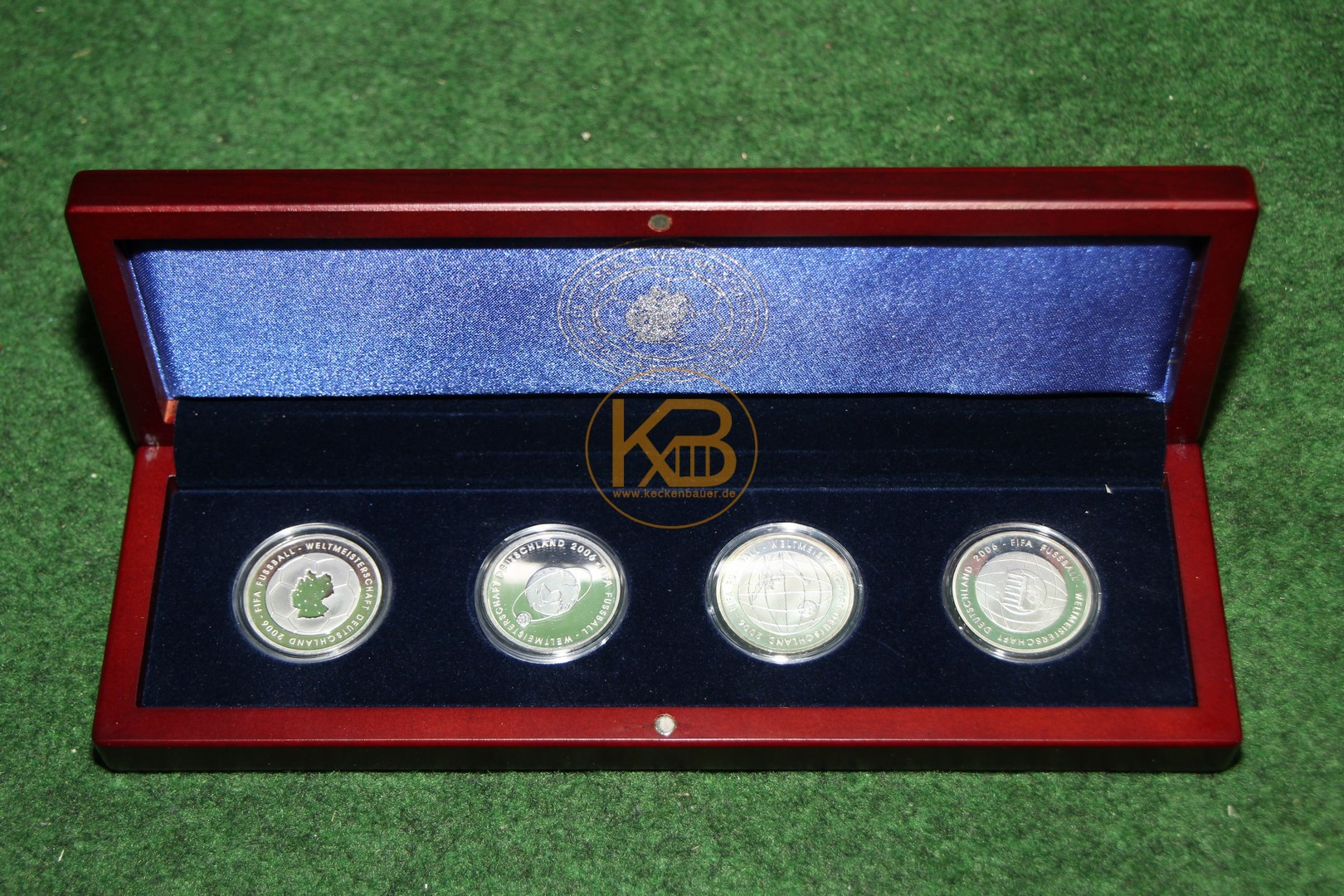 10€ Gedenkmünzen zur Weltmeisterschaft 2006 in Deutschland