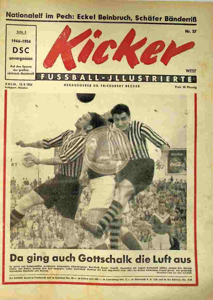 1954 September 13. Kicker Nr.37