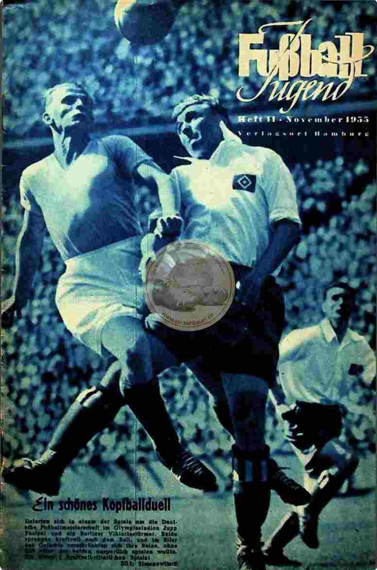 1955 November Fußball Jugend
