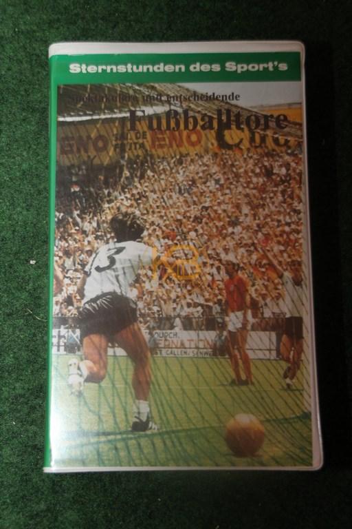 VHS Sternstunden des Sports Fußballtore Teil 1