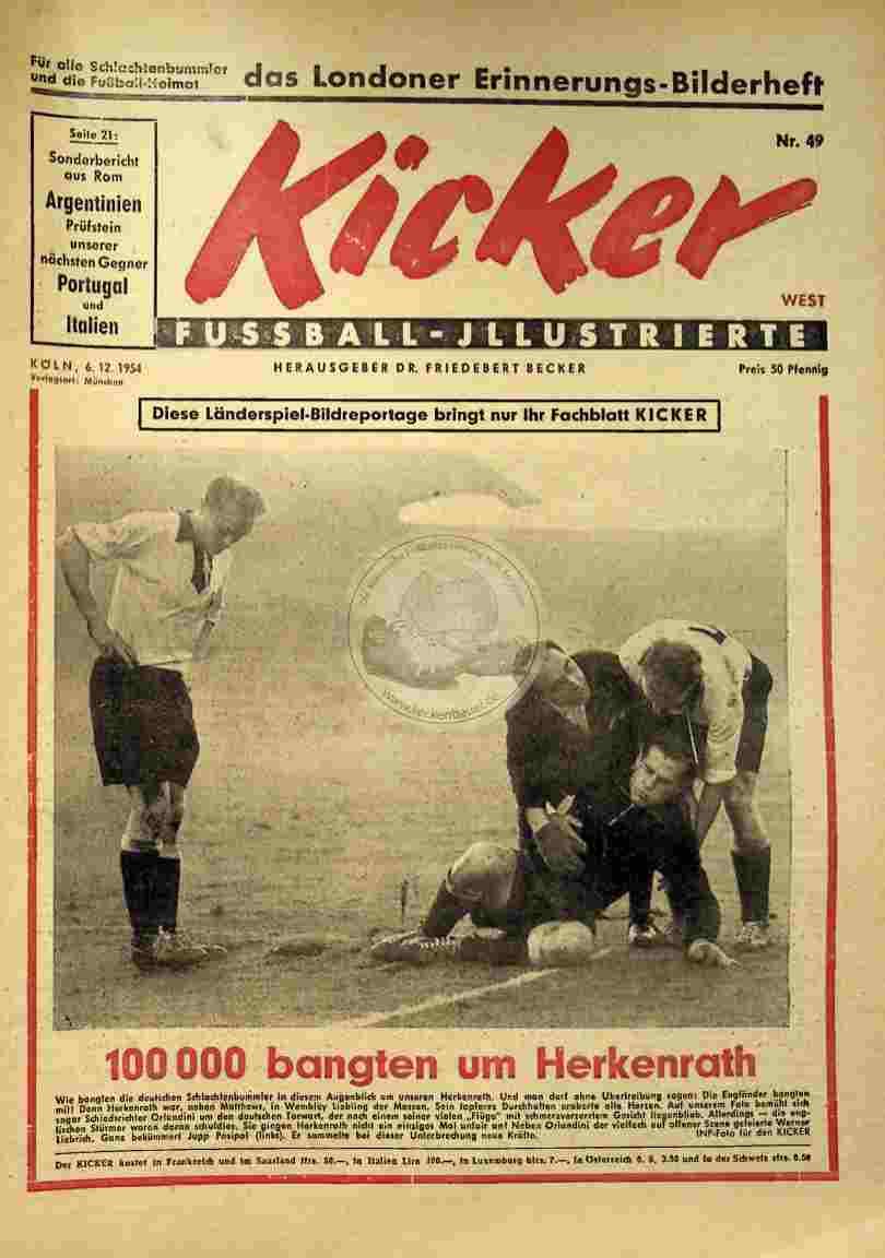 1954 Dezember 6. Kicker Nr.49