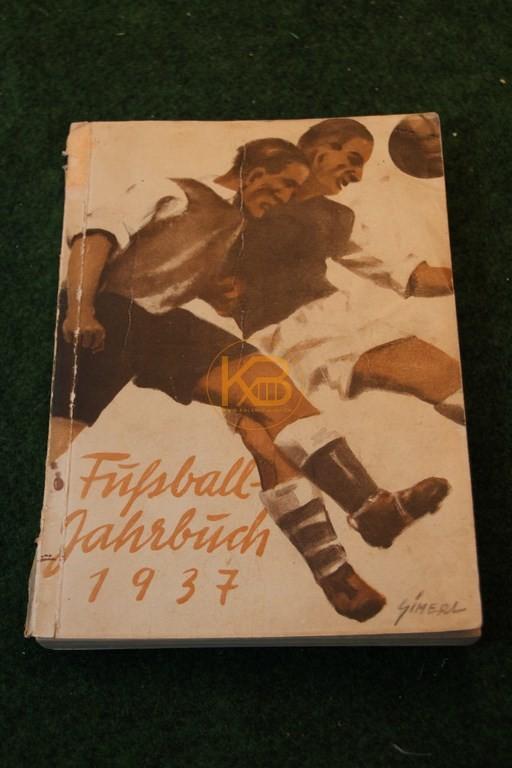 Fußball Jahrbuch 1937.
