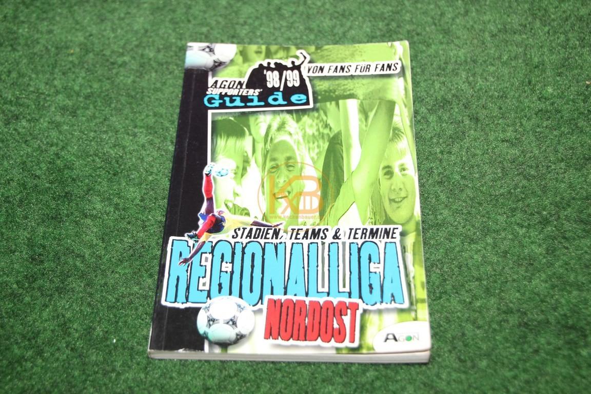 Regionalliga Nordost 98/99 von Fans für Fans vom Agon Verlag