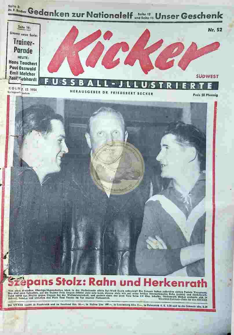1954 Dezember 27. Kicker Nr.52
