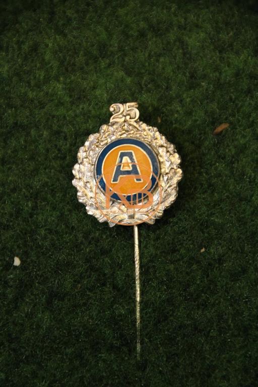 25 jährige Ehrennadel vom SV Ahlem