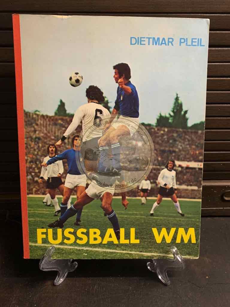 Fußball Sammelalbum der WM 1974 natürlich komplett.