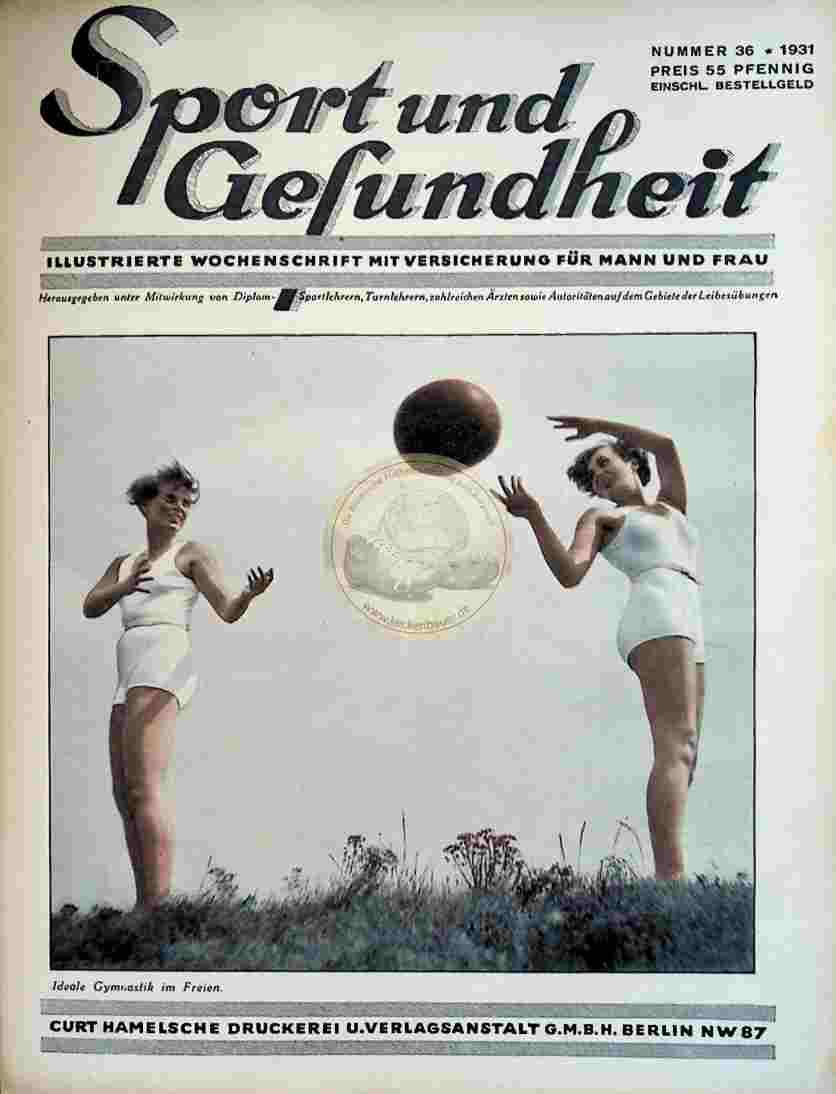 1931 Sport und Gesundheit Nr.36