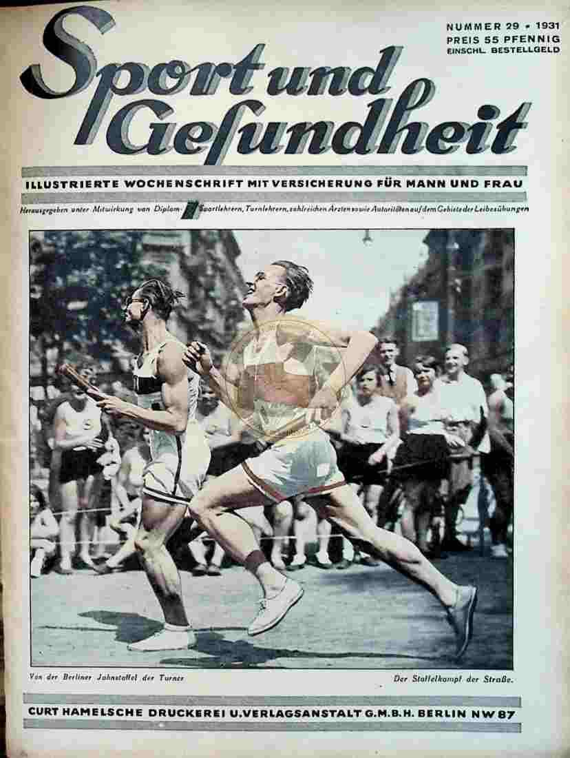 1931 Sport und Gesundheit Nr.29