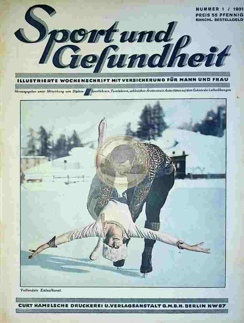 1931 Sport und Gesundheit Nr.1