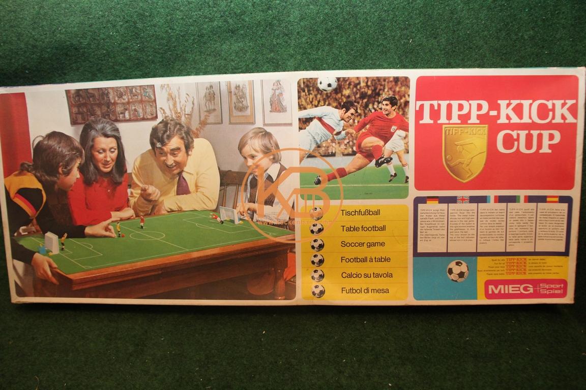 Tipp Kick Cup von MIEG + Sport Spiel.