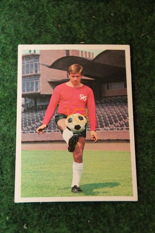 Bergmann Sammelbild von Josef Heynckes Hannover 96 Saison 68/69.