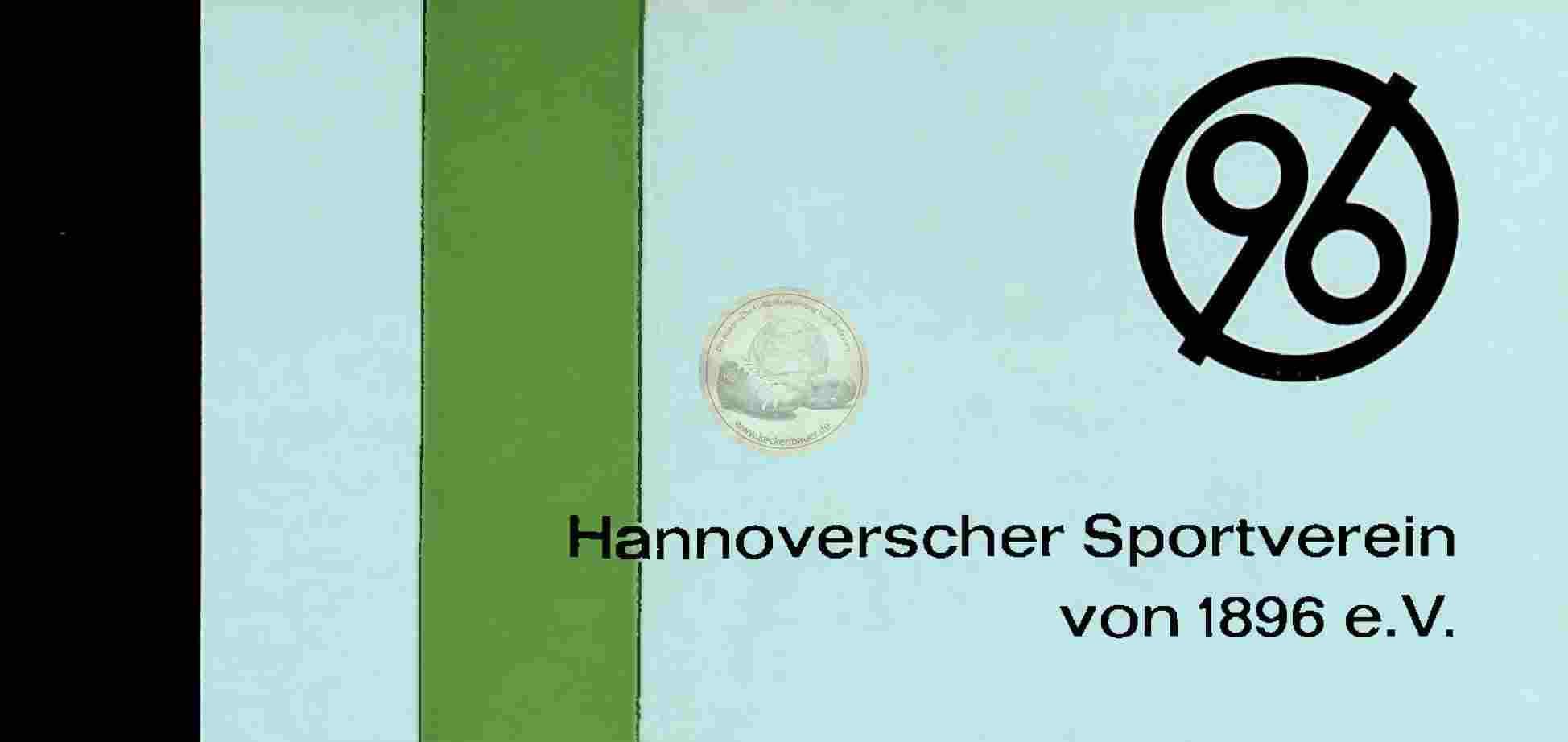 1964 Hannover 96 Fleyer