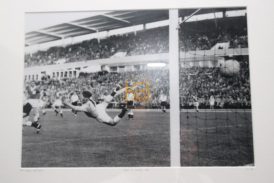 Originalbild von Otto Ludwig Bettmann von der Weltmeisterschaft 1958 in Schweden Nr. 124.