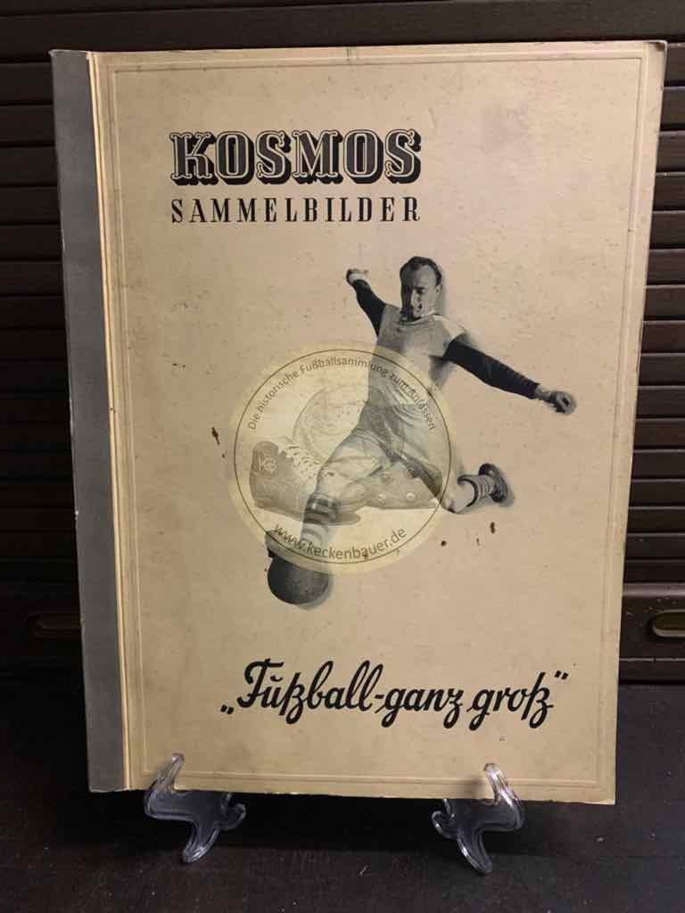 Sammelalbum Kosmos Sammelbilder Fußball ganz groß Teil I 1950 – 1951.