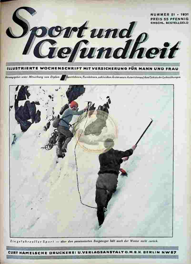 1931 Sport und Gesundheit Nr.51