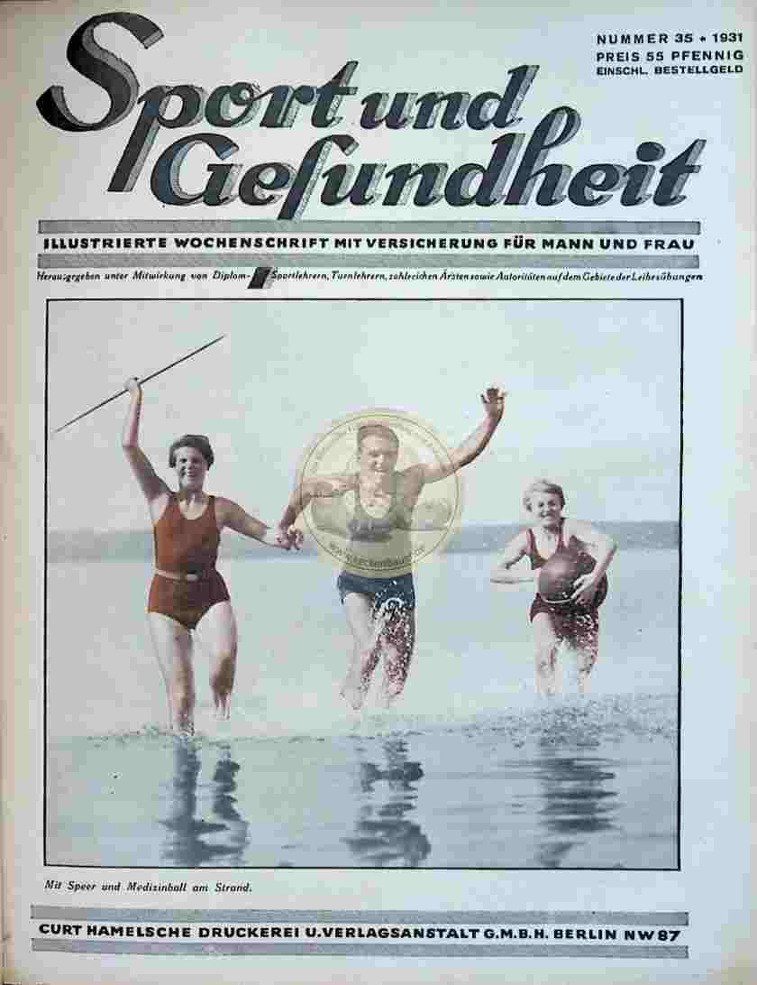 1931 Sport und Gesundheit Nr.35