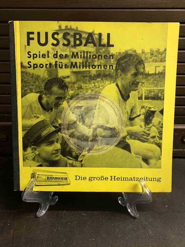 Fußball - Spiel der Millionen - Sport für Millionen von Westermann aus dem Jahr 1961