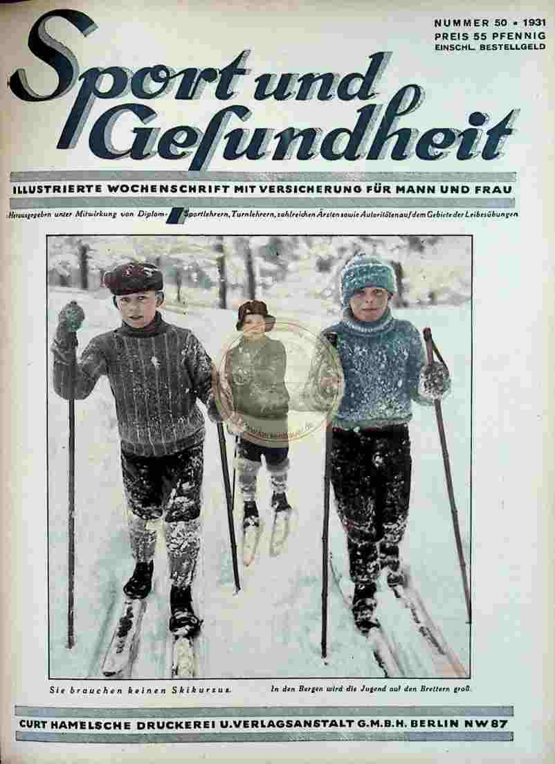 1931 Sport und Gesundheit Nr.50