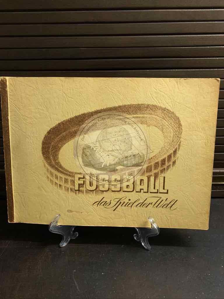 """Mohr Fußballsammelalbum """"Fussball das Spiel der Welt"""" aus dem Jahr 1950/51 natürlich komplett."""