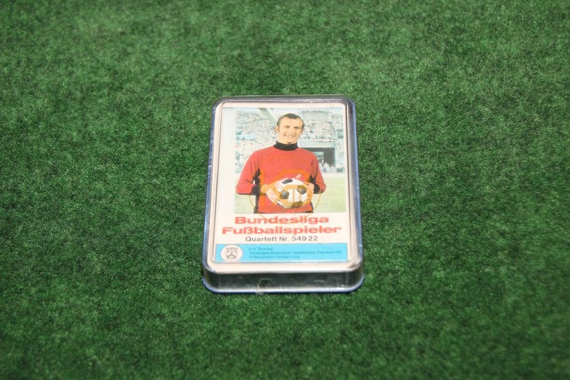 Bundesliga Fussballspieler 54922 Quartett von Schmid ca. aus den späten 1960ern.