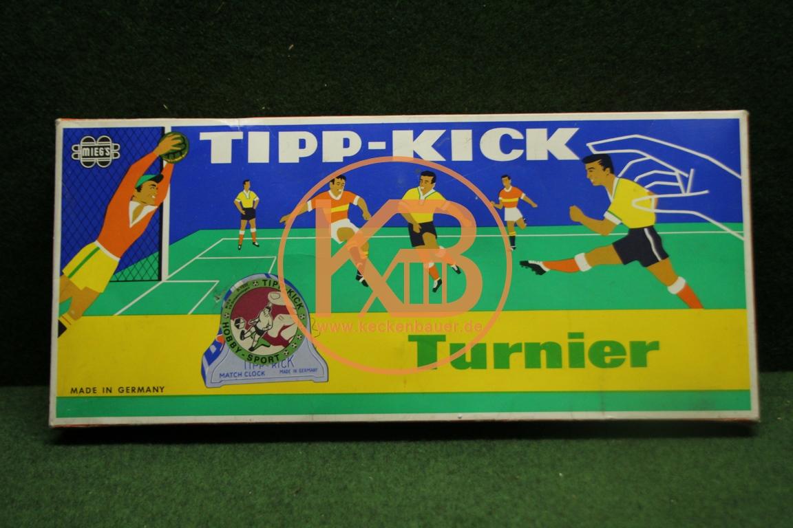 Tipp Kick Turnier aus den 1980ern.